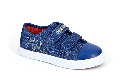Pablosky Unisex, bambini 933620 Scarpe con velcro Blu Size: 26