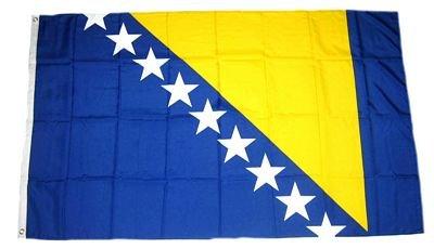 Fahne / Flagge Bosnien Herzegowina 60 x 90 cm Fahnen