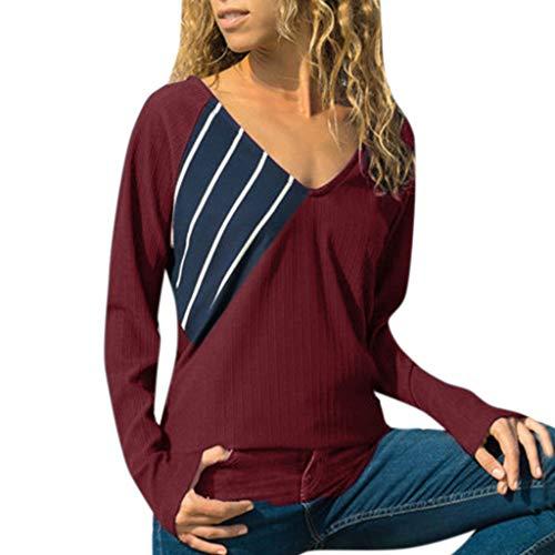 674cac4734 Casual Vestito A-Line con Maniche Corte Donna Maglia Lunga al Ginocchio T  Shirt Top