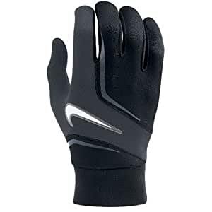 Nike Ltwt Field Players Gloves - M, Black (Black/Anthracite/White)