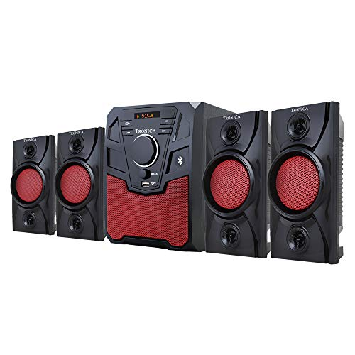 TRONICA Republic 4.1 Home Theater System with Bluetooth/SD Card/Pen Drive/FM/AUX Support & Remote