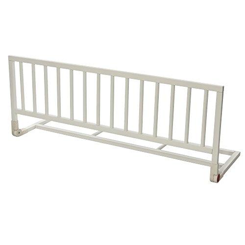 Barrera de seguridad para camas de bebé color blanco