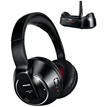 Philips SHC8575 - Auriculares de diadema cerrados inalámbricos, negro