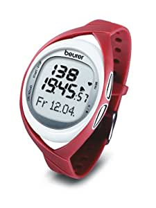 Beurer PM 52 Heart Rate Monitor - Red/White