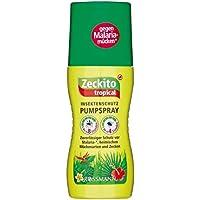 Preisvergleich für Insektenschutz Pumpspray ZECKITO TROPICAL (8 Std. Schutz/100 ml) GEGEN MALARIA - MÜCKEN