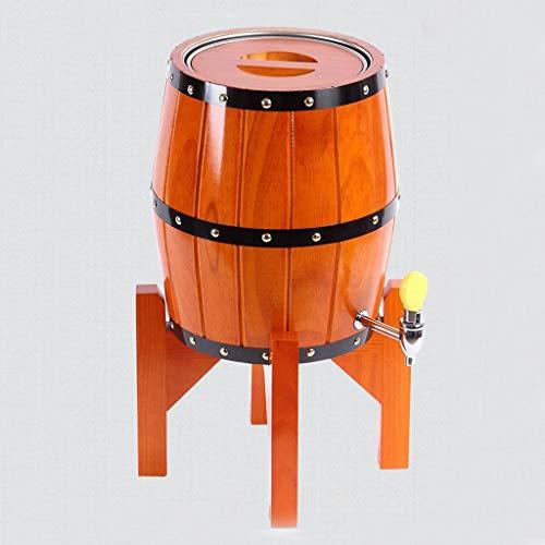 IAIZI Wine Shelf Vertikale Eiche Weinfass Bierfass Holzfass Haushalt Weinfass Weinfass Dekoration...
