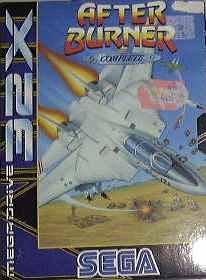 After Burner Complete - 32X - PAL