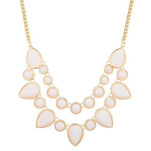 lux-accessori-beige-cerchi-e-diamanti-dichiarazione-collana