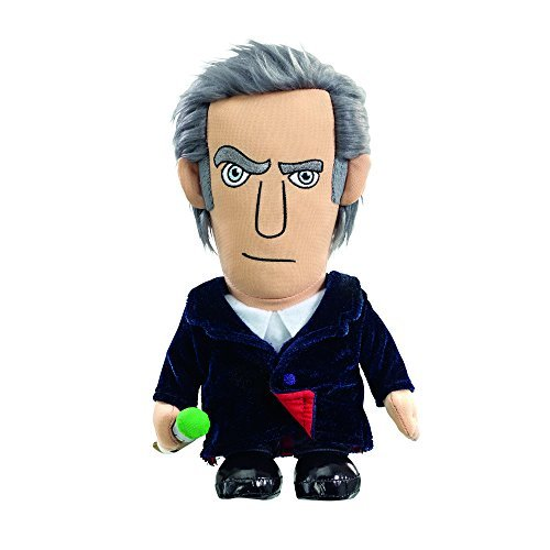Doctor Who 12th Doctor Peter Capaldi Talking Plush Toy (Medium)