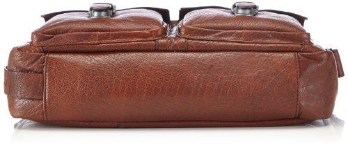 Strellson Greenford SoftBriefcase 4010001269 Herren Henkeltaschen 39x26x10 cm (B x H x T), Braun (cognac 703) Braun (cognac 703)