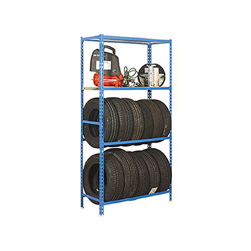 Simonrack Stauraum auf 2 Reifenträgerebenen und einem Fachboden
