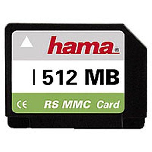 Hama RS-MMC Card 512MB Reduzed Size MultiMedia Speicherkarte