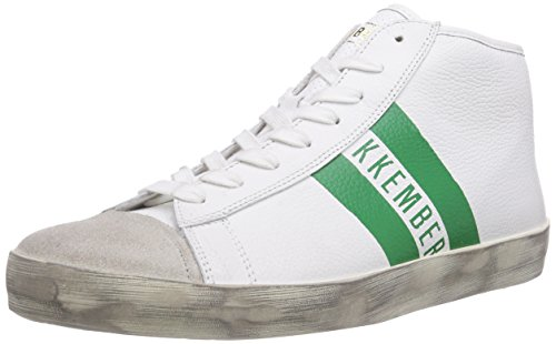 Bikkembergs 641082, Baskets hautes homme Blanc - Weiß (weiss)