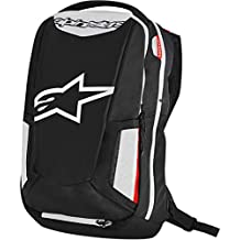 Motorcycle Alpinestars City Hunter Backpack 25L - Black/White/Red