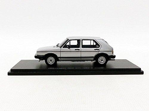 Spark-Volkswagen Golf I GTI 4Portes- 1982-Maßstab 1/43, S3213, Silber