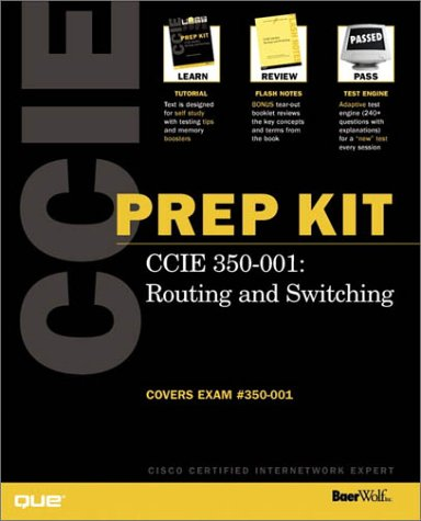 CCIE Prep Kit 350-001 Routing and Switching