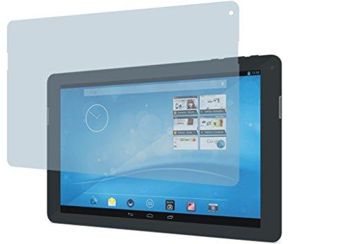 4ProTec 2 Stück GEHÄRTETE ANTIREFLEX Bildschirmschutzfolie für Trekstor SurfTab xintron i 10.1 OHNE 3G Displayschutzfolie