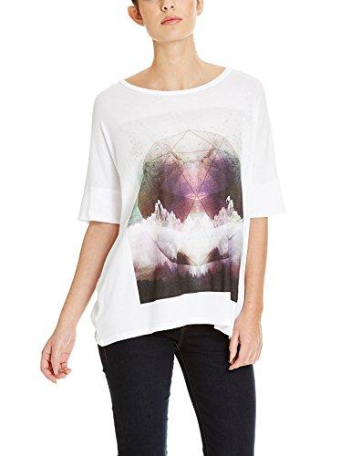 Bench Damen T-Shirt Putonice Weiß (White WH001)