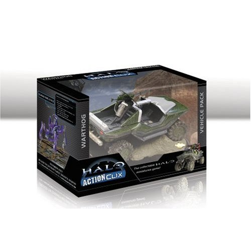 Wizkids WZK1322 Halo ActionClix Battle-Damaged Warthog