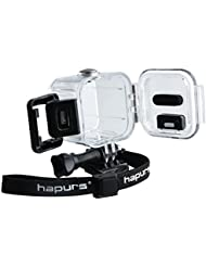 Hapurs Funda protectora impermeable para GoPro 4 Hero Session 5, ideal para bucear