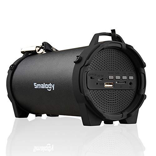 Docooler Smalody SL-10 Drahtloser BT Lautsprecher Outdoor Soundbox 10W Stereo Bass Subwoofer Unterstützung FM Radio TF U Antrieb Aux in w/Mic Gurtband
