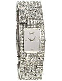b43322b463f4ed Dolce   Gabbana Montre bracelet Femme, Acier inoxydable, couleur  argent.  B004KZ6C1M