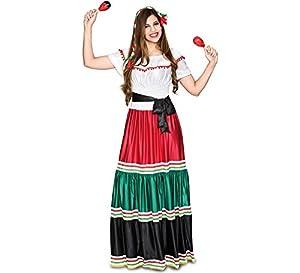 Fyasa 706477-t04mexicano Mujer Disfraz, Tamaño grande