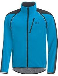 Gore Wear C3 Windstopper Phantom Chaqueta Zip-Off, Hombre, Azul/Negro, M