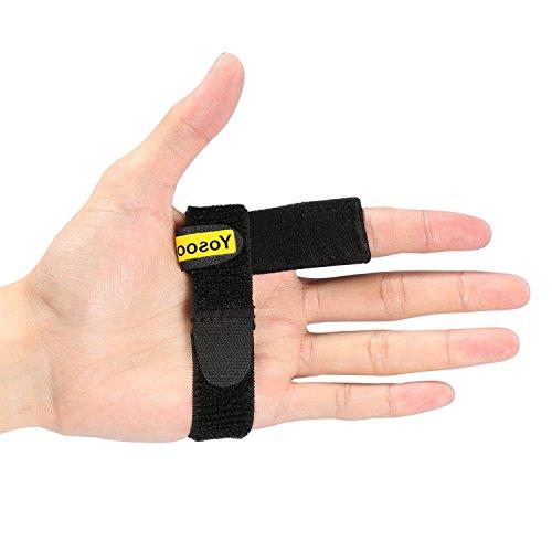 Yosoo Finger Schienen Fingerbandage Trigger Relief Stabilizer für Daumenverletzungen Arthritis Fraktur / Verletzungen / Schmerzen / Trauma Fingerschutz -