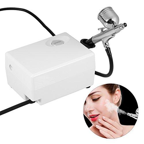 Pulvérisateur d'Oxygène, Machine de Pistolets Pulvérisateurs Pistolet Facial d'Injection de Dispositif Pulvérisateur d'Oxygène Hydratant Facial de Beauté Vieillissement de Rajeunissement EU Plug