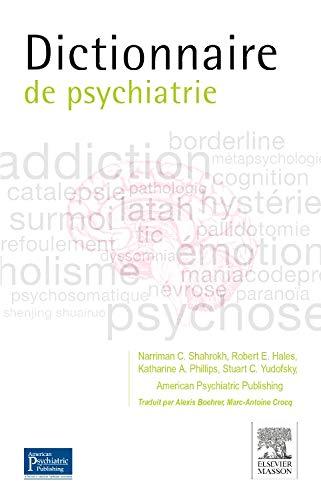 Dictionnaire de psychiatrie