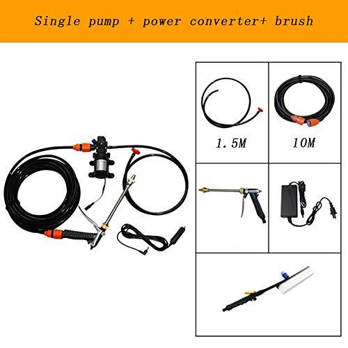 FENG Konstanter Hochdruckstrahl Hochdruckreiniger,mit Einzelpumpe, für Fahrräder, Autos und Gartenmöbel,C