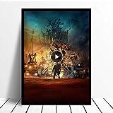Danjiao Mad Maxes Verticale Classico Poster Tela Pittura Stampa Camera Da Letto Complementi Arredo Casa Moderna Arte Della Parete Pittura A Olio Salone Quadri Quadro Soggiorno 40x60cm
