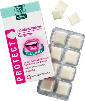 BADERS Protect Zahnfleisch P 16 St Kaugummi
