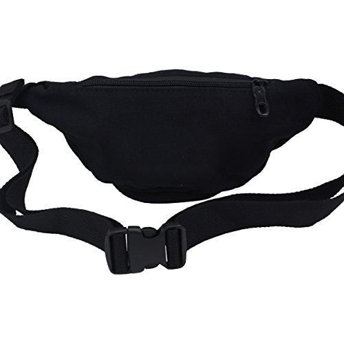 Yakuza Premium Gürteltasche 2175 Bauch Tasche schwarz - Einheitsgröße, verstellbar Schwarz