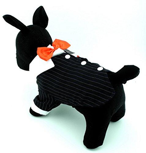 Party Formale T-Shirt für Stecker Schwalbenschwanz Hochzeit Fliege für Hund Shirts Kostüm Sommer (Scooby-halloween-kostüme)