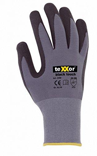 10er Pack black touch Arbeitshandschuhe, Montagehandschuhe, Größe:10 (XL)