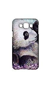 Teddy Painting Case For Samsung Galaxy E7