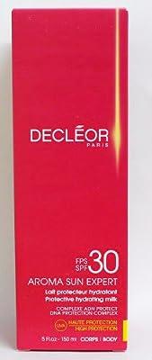 Decléor Protective Hydrating Milk SPF 30 unisex, feuchtigkeitsspendende Sonnenschutzmilch, 1er Pack (1 x 0.15 l) von Decléor bei Du und dein Garten