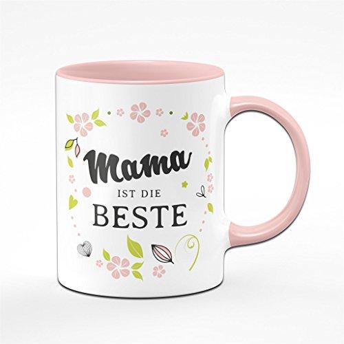 Mama ist die Beste - Tasse - Kaffeetasse- Geschenk für die Mama