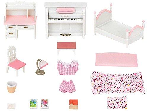 Sylvanian Families - 5032, Set di mobili da cameretta femminuccia per pupazzetti