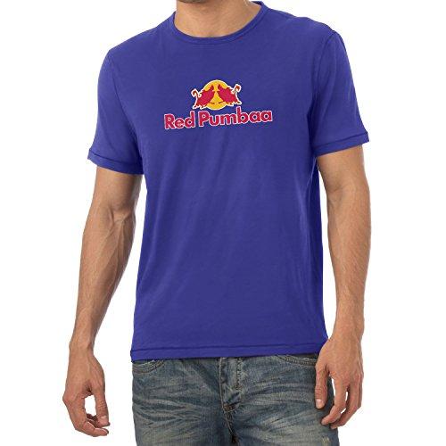 Texlab Red Pumbaa - Herren T-Shirt, Größe XL, Marine