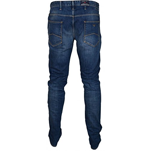 ARMANI JEANS - Jeans uomo slim fit 6x6j06 6d04z, Blue, 36