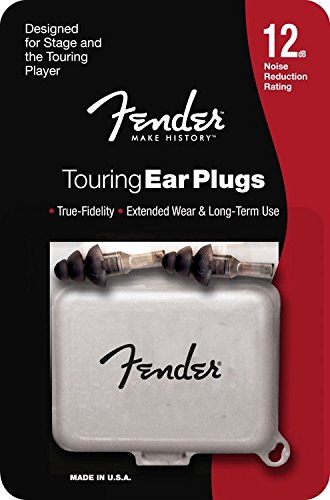 Fender 099-0543-000 Touring Series HiFi Ear Plugs - Gehörschutz - Hi Fi Ear Plugs