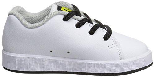 DC Shoes  Phos T Shoe, Basses garçon White Black Print