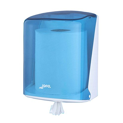 Jofel AG41200 Azur Dispensador de Papel, Mecha, Azul