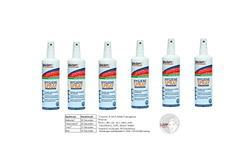 VibaSept Hygiene Spray - 6 x 250 ml