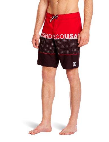 DC Shoes veröffentlicht Herren Badeshorts, Herren, Released, athletic red, W30IN (Athletic Shorts Dc)