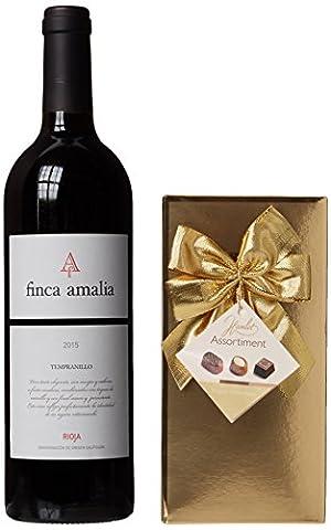Rotwein & Schokoladen-Geschenkset - Wein-Geschenke für Ihn oder Sie -