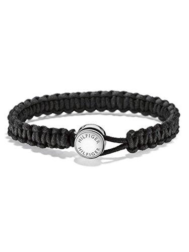 Tommy Hilfiger Herren-Armband Schwarz 2700945